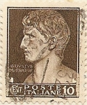 Stamps Italy -  AUGUSTUS EMPERATOR