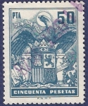 Stamps Spain -  Arancel 50