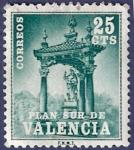 Sellos de Europa - España -  Edifil V06 Plan Sur de Valencia 0,25