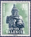 Sellos de Europa - España -  Edifil V08 Plan Sur de Valencia 0,25