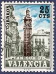 Stamps Spain -  Edifil V09 Plan Sur de Valencia 0,25