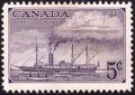 Sellos del Mundo : America : Canadá : evolucion en el transporte 1851-1951