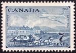 Stamps Canada -  evolucion en el transporte 1851-1951