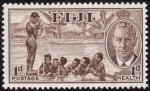 Stamps Oceania - Fiji -  IMAGEN COTIDIANA
