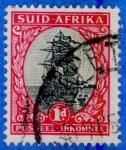 Sellos del Mundo : Africa : Sudáfrica : SUDAFRICA 1926 (S 24) Jan van Riebeek's ship Dromedaris 1d
