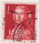 Sellos del Mundo : Europa : España : Cº nacimiento Leandro F. de Moratin