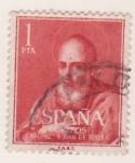 Sellos de Europa - España -  Canonización S. Juan de Ribera