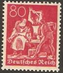 Stamps Germany -  146 - herrero