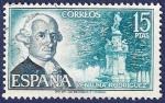 Stamps Spain -  Edifil 2119 Ventura Rodríguez 15