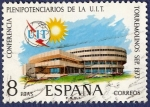 Sellos de Europa - España -  Edifil 2145 Plenipotenciarios de la UIT 8