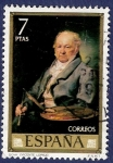 Stamps of the world : Spain :  Edifil 2151 Goya 7