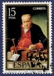Stamps of the world : Spain :  Edifil 2153 El organista Félix López 15