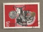 Stamps Russia -  Medallas Roma