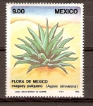 Stamps America - Mexico -  MAGUEY   PULQUERO