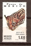 Stamps Mexico -  OCELOTE