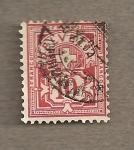 Sellos de Europa - Suiza -  Cruz blanca