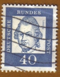 Stamps Europe - Germany -  RETRATOS- Lessing