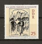 Sellos de Europa - Alemania -  Centenario de la Comuna de Paris