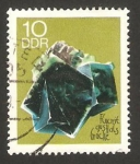 Stamps Germany -  1165 - mineral fluorine de halsbruck