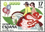 Stamps Europe - Spain -  GRANDES FIESTAS POPULARES ESPAÑOLAS