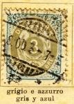 Stamps Denmark -  Escudo Real