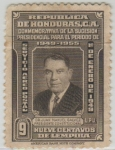 Stamps of the world : Honduras :  Dr. Juan Manuel Gálvez