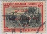 sellos de America - Honduras -  Rendición de Granada a Reyes Católicos