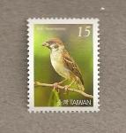 Sellos de Asia - Taiwán -  Aver Passer montanus