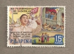 Sellos de Asia - Filipinas -  75 Aniv de Pres. Fernando Marcos