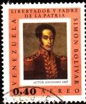 Stamps Venezuela -  simon bolivar