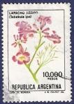 Stamps Argentina -  ARG Lapacho negro 10000