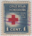Stamps of the world : Honduras :  Cruz Roja Hondureña