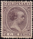 Sellos de Asia - Filipinas -  ALFONSO XIII