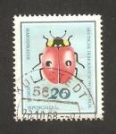 Sellos de Europa - Alemania -  coleóptero adalia bipunctata