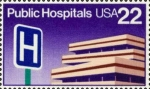 Stamps United States -  HOSPITALES PUBRICOS