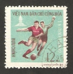 Stamps : Asia : Vietnam :  deportes, fútbol