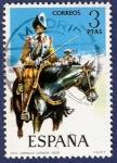 Sellos del Mundo : Europa : España :  Edifil 2169 Coracero de caballería 3