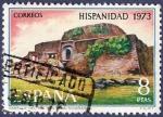 Stamps Spain -  Edifil 2157 Hispanidad 8