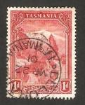 Sellos de Oceania - Australia -  Tasmania - Monte Wellington