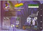 Sellos de Europa - España -  ESPAÑA 2002 3947 HB Sello Nuevo Programas de Radio El Tirachinas, 40 Principales, Onda Cero Noticias