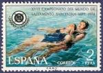 Sellos de Europa - España -  Edifil 2202 Campeonatos del mundo de salvamento acuático 2
