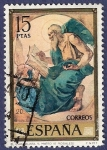Stamps of the world : Spain :  Edifil 2210 El evangelista San Mateo 15