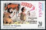 Stamps Europe - Spain -  ESPAÑA -  Cuevas de Altamira y el arte rupestre paleolítico del norte de España