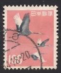 Stamps Asia - Japan -  Grulla Japonesa.