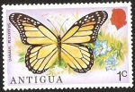 Sellos del Mundo : America : Antigua_y_Barbuda : DANAUS PLEXIPPUS