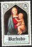Sellos del Mundo : America : Antigua_y_Barbuda : CHRISTMAS- LA MADONNA DEL CRANDUCA - RAFAEL