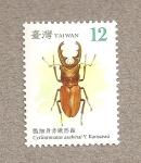 Sellos de Asia - Taiwán -  Escarabajos de Taiwán