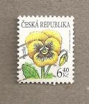 Stamps Czech Republic -  Flor