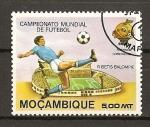Sellos del Mundo : Africa : Mozambique : Mundial de Futbol España 82