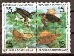 Sellos de America - Rep Dominicana -  TORTUGAS